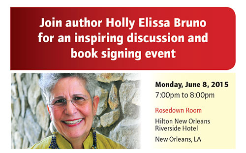 Holly Elissa Bruno's book signing invite