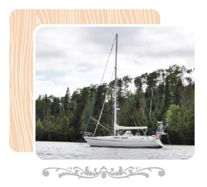 Image of author Angele Passe's sailboat