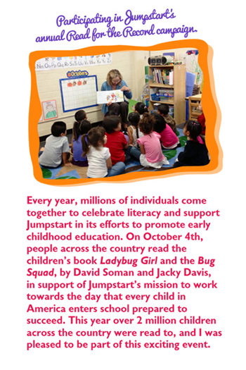 Jump Start's annual Read for the Record campaign