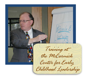 Tom Copeland training for Early Childhood Leadership